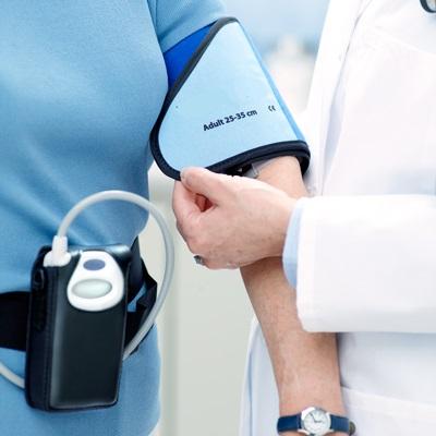 Holter pressorio